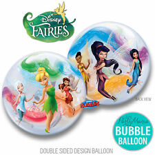 DISNEY TINKERBELL FAIRIES BIRTHDAY PARTY SUPPLIES DECORATIONS BUBBLE BALLOON