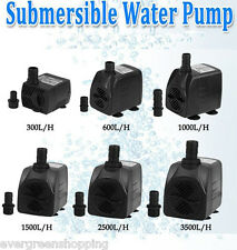 New Water Pump Fountains Fish Tank Pond Aquarium Submersible Pump Hydroponic US