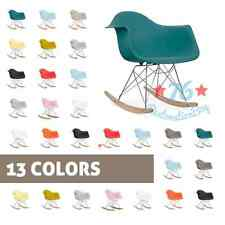 RAR mcm molded abs arm chair eiffel dowel rocking rocker wood.eames,esque