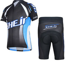 CHEJI Kids Boys Cycling Set Jerseys Pants Outdoor Sports Bicycle  Short Sleeve