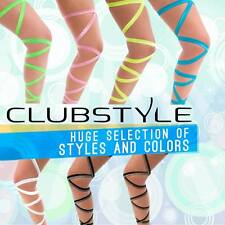 Single Rave Leg Wrap - Quality Elastic GO GO Legging - Festival Rave Accessories