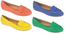 Womens Flat Sandals Ladies Loafers Moccasin Summer Pumps Casual Shoes Size