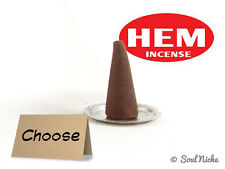 CHOOSE: HEM Dhoop Incense Cones - Box of 10