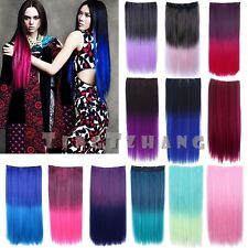 Women's 22 Colors Cosplay Gradient Color Highlight Hair Wigs Birthday Party Wigs