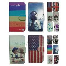 luxury Wallet Card Holder Full Cover Case For Alcatel mobile phone
