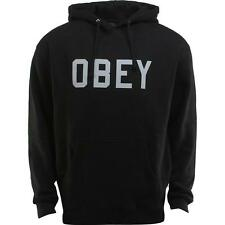 Obey Collegiate Obey Reflective Hoody (black)