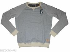 "Mens ""EX RIVER ISLAND"" NORDIC SWEATSHIRT / JUMPER - GREY : SMALL"