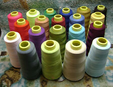 1PCS/3000 Yards Quality Overlocking Sewing Machine Polyester Thread Cones