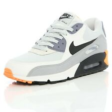 Nike Air Max 90 Essential Mens Light Base Grey Black Purple Orange 537384 005
