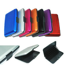 Color Metal Aluminum Business ID Credit Card Case Wallet Holder Box Purse Pocket