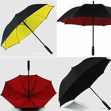 Men's Super Strong Windproof Umbrella Parasol AUTO High Quality formal occasion