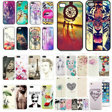 Fashion Cute Pattern Hard Skin Case Cover Back Protector For iPhone 5 5S 4 4S
