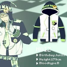 Anime DRAMAtical Murder DMMD NOIZ Sweater Coat Hoodie Cosplay Prop Gift