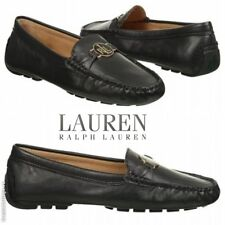 NWB LAUREN RALPH LAUREN Women's Carley Casual Classic Penny Loafers Leather