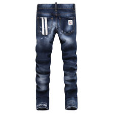 Brand New DSQUARED2 Men's Washed Torn Denim Jeans Size 30-36 DSQ-392