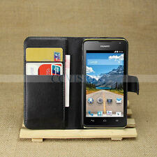 For Huawei Ascend Y530 Arrival Luxury Litchi Lines Durable Leather Wallet Case