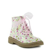 Lilley - Girls Lilley Silk Lace Multi Floral Ankle Boot