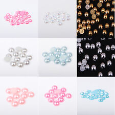 Choose  Colour Flatback Pearl Rhinestones Nails, Arts, Crafts, Card, Scrapbook