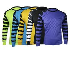 Luwint Men's Soccer Goalkeeper Jersey Goalie GK Shirt NEW Long Sleeve Adult Pad