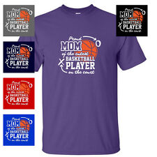 CUTE BASKETBALL PLAYER MOM mothers day jersey MENS T-SHIRT