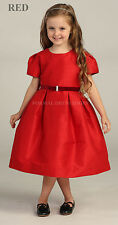 NEW LITTLE FLOWER GIRL DRESSES FORMAL PARTY PAGEANT GOWNS CLASSY CHURCH ATTIRE