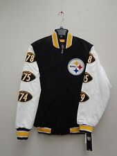 Pittsburgh Steelers Mens Triple Double Super Bowl Varsity Jacket 802