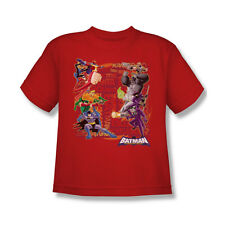 Batman The Brave And The Bold Good Vs Bad Youth T-Shirt (Ages 8-12)