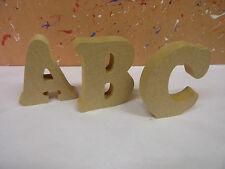 """18mm mdf wooden freestanding letters 4""""6""""8""""10""""12 COPPER FONT CHEAPEST ON EBAY"""