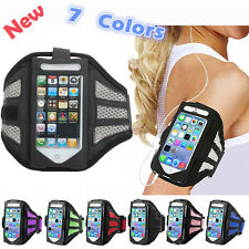 Outdoor Gym Sport Workout Running Adjustable Armband Case Cover For iPhone 4/5
