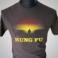 Kung Fu Retro TV T Shirt David Carradine Cool Classic Series Vintage MMA Karate