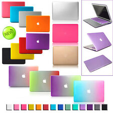 Rubberized Laptop Hard Matte Frosted Case for Mac MacBook Air Pro 11 11.6 13 15""