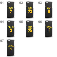 Personalised Customized Cleveland Black Swingman Replica Jersey Phone Case Cover