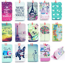 Hybrid Fold Flip Magnetic Leather Wallet Card Book Stand Case Cover For Samsung