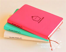 NEW Molang Rabbit Cute Leather Cover Pocket Planner Notebook Diary Journal