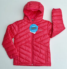 New Columbia girls Snowpuff puffer jacket coat winter ski snow parka PINK