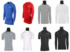 Mens Sports Compression Wear Under Base Layer Long Sleeve T-Shirts Athletic Top