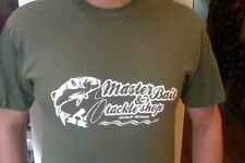 MASTERBAIT & TACKLE SHOP FISHING TSHIRT, FISHING TACKLE,  FUNNY FISHING T-SHIRTS