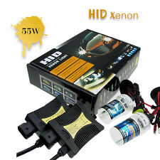 55W HID Xenon Conversion Headlight KIT Bulb H1 H3 H4 H7 H9 H13 9005 9006 9004/7