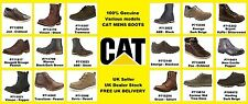 CAT Mens Boots in a selection of Various Models - Abe, Orson, Vinson, Dougald