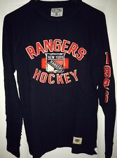 NEW YORK RANGERS MENS LONG SLEEVE JERSEY TOP by OLD TIME HOCKEY