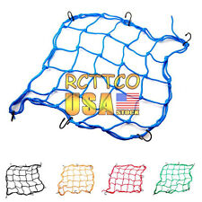 US Stock New Motorcycle Parts Rear Helmet Elastic Web Cargo Nets Mesh 5 Color