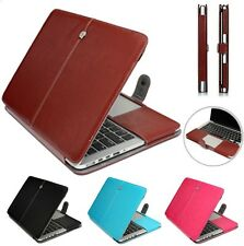 """Laptop Sleeve Bag PU Leather Case Cover For Apple MacBook Air 13"""" 11"""" Pro13"""" 15"""""""