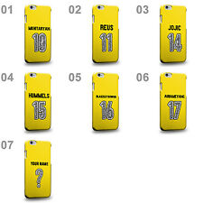German Football League Black and Yellows Soccer Home Jersey B Phone Case Cover