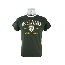 Mens Green Ireland Celtic Nation T-Shirt - Various Sizes