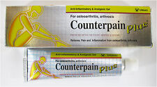 COUNTERPAIN PLUS ANTI-INFLAMMATORY & ANALGESIC GEL (relieves muscular aches)