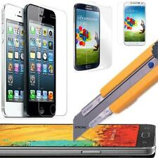 Tempered Glass Screen Protector Guard iPhone 6 5S 5C 5 4S Samsung S4 HTC LG Pen