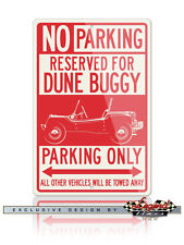 Meyer Manx Dune Buggy VW - Reserved Parking Only Sign - 12x18 / 8x12 Aluminum