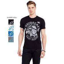 New Armani Exchange Mens Slim Muscle Fit Moto Eagle Tee Shirt g6x763