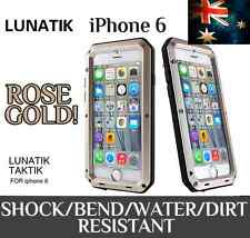 "Champagne GOLD iPhone 6 LunaTik 4.7"" Taktik EXTREME Shock/Water/Dust Proof Case"