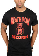 Death Row Records Logo T-shirt Clothing Tee Suge Knight Tupac 2 Pac Snoop Dogg